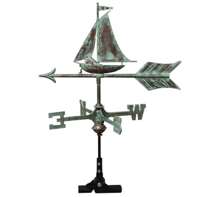 Weathervane-Small Boat