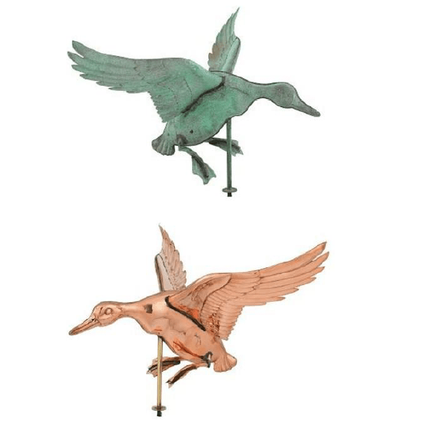 Weathervane Lading Duck