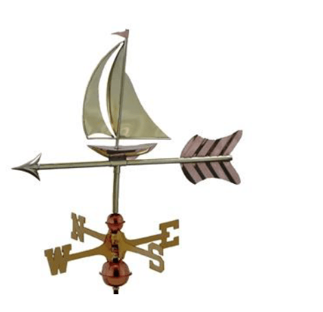 Weathervane Sailing Boat