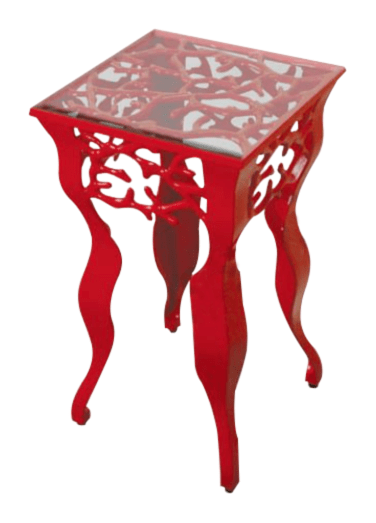 Coral Cocktail Table