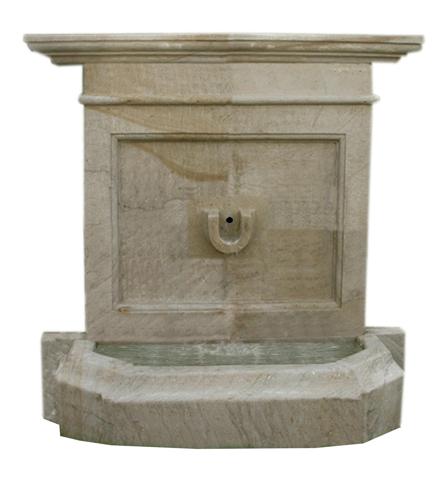 Horshoe Wall Fountain