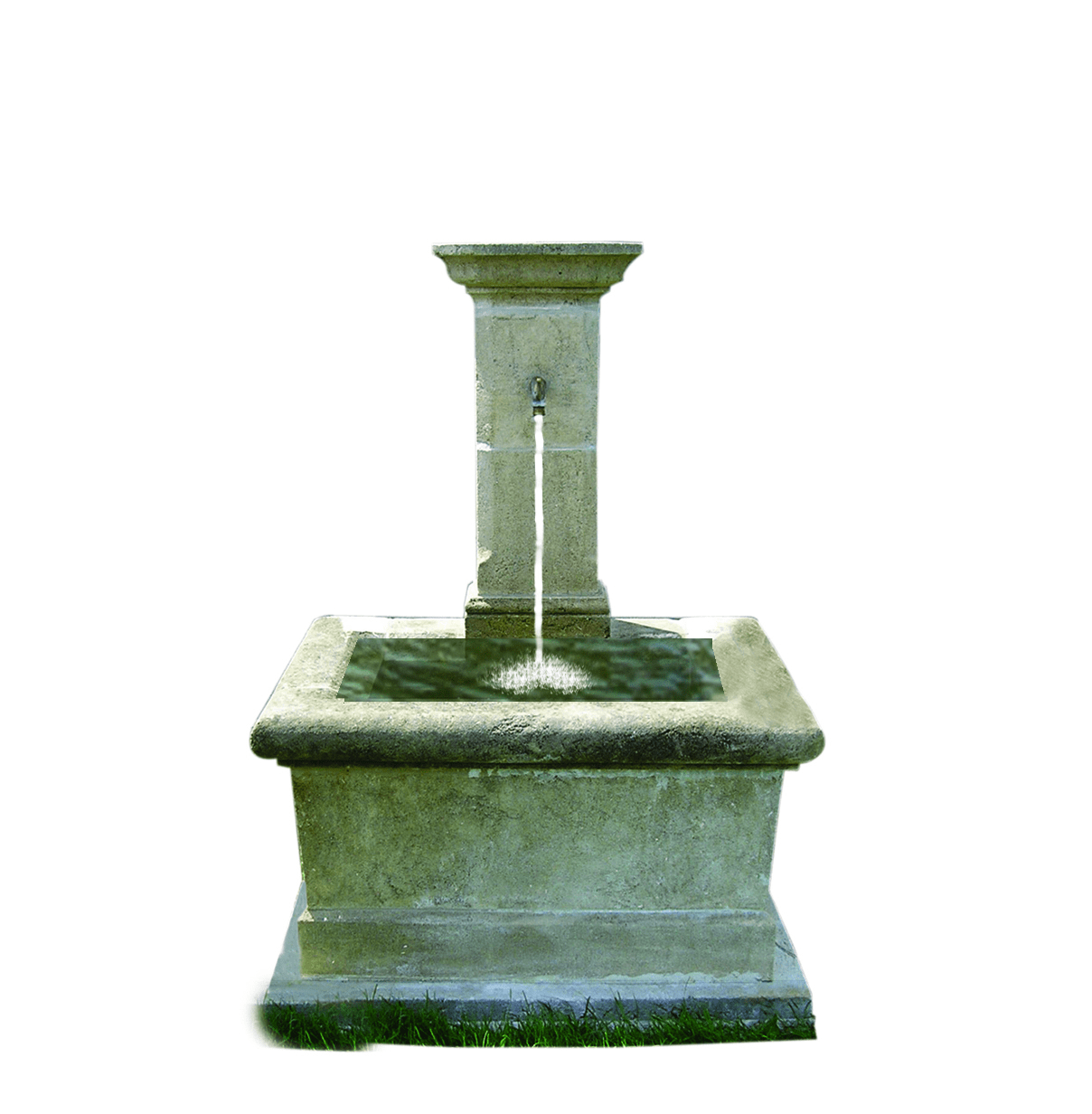 French Moistier Wall Fountain