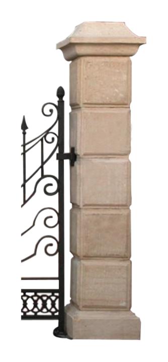 Panelled Pillar