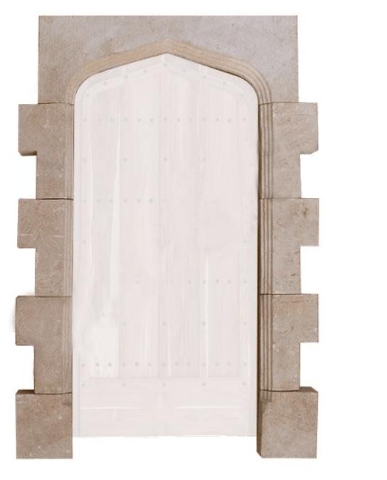 Door Surround Jacobean