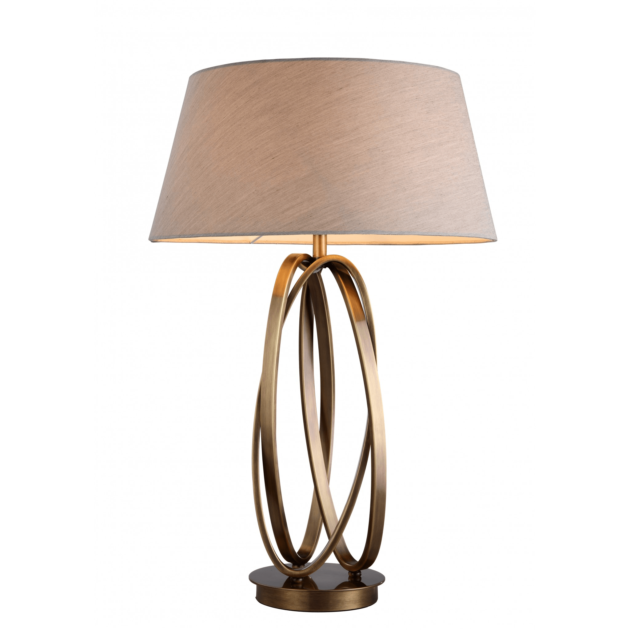Brisa Antique Brass Table Lamp